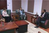 Cabinet Affairs Minister receives UK Ambassador