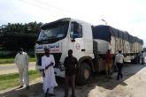 حاكم النيل الازرق يستقبل قافلة دعم الولاية بالمعدات الطبية