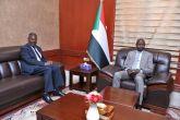 الهادي إدريس يطلع على ترتيبات إجتماع أمناء جامعة أفريقيا العالمية