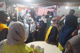 وكيل الصحة تسجل زيارة لمركز التطعيم بميدان المولد ببحري