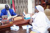 حاكم اقليم النيل الأزرق يطلع على تحديات التخطيط الإستراتيجي