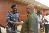 والي شمال كردفان يستقبل رئيس هيئة التوجيه والخدمات برئاسة الشرطة