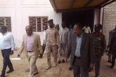 والي جنوب دارفور يقف على سير العمل بمستشفى النساء والتوليد