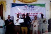 """ختام دورة """"التطوير الإداري للعاملين بالتأمين الصحي"""" بوسط دارفور"""