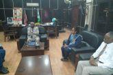 """والي الجزيرة يلتقي وفد """"المجموعة السودانية للديمقراطية أولا"""""""