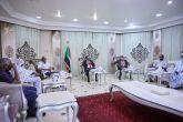 حمدوك يلتقي اللجنة القومية لتخليد ذكرى الإمام الصادق المهدي