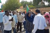 Yusif participates in processions supporting transition